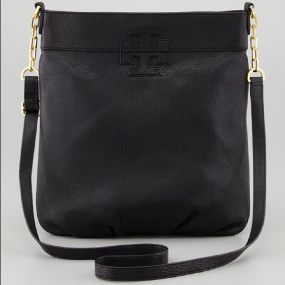 2b6adb55755709 Tory Burch Stacked T Book Bag Blk Pebbled Leather.  M_5b93eae125457a8bf08a1114